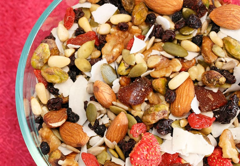 Coconut and Fruit Trail Mix